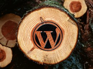 Wooden WordPress