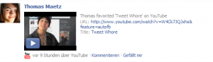 Facebook: YouTube
