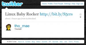 Twitter: Linux Baby Rocker