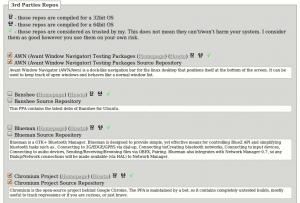 Ubuntu Sources List Generator: 3rd Parties Repos