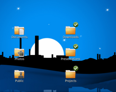 Desktop: Dropbox