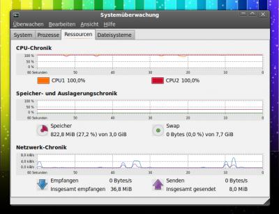Ubuntu: Systemüberwachung