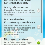 Skype Android 10