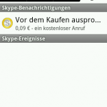 Skype Android 16