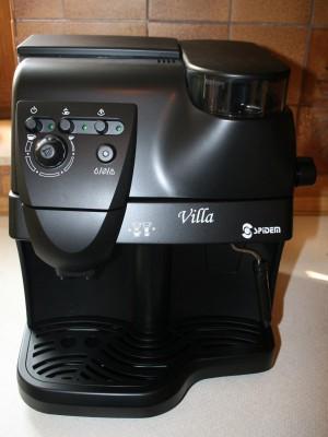 Kaffeevollautomat: Spidem Villa 1