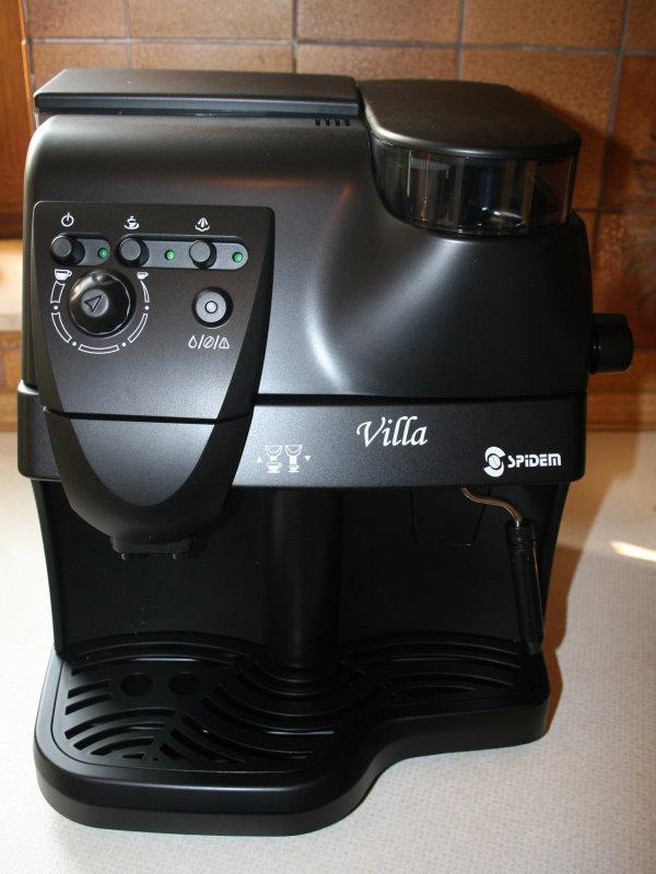 Ремонт кофемашины spidem villa